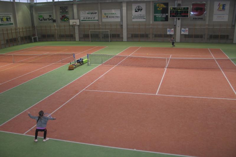 Na hali GKS Górnik Łęczna odbył się kolejny turniej tenisa ziemnego