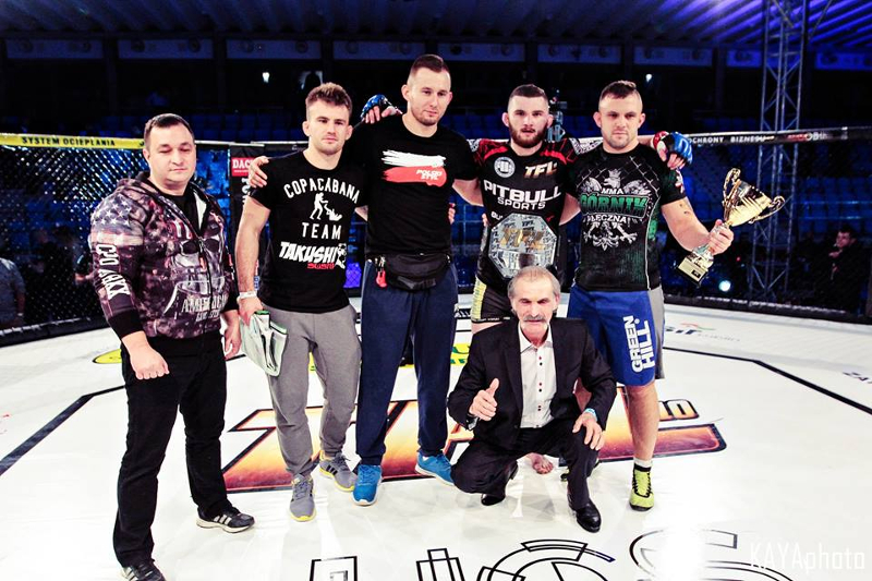 gks górnik łęczna mma, Thunderstrike Fight League, michał oleksiejczuk
