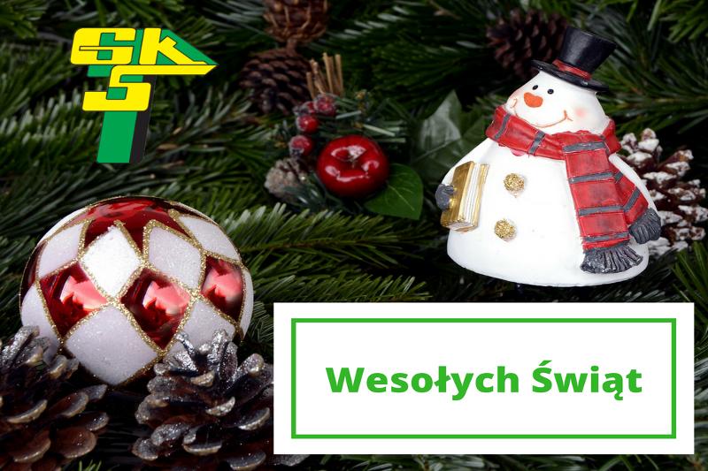 GKS Górnik Łęczna życzy wszystkim Wesołych Świąt