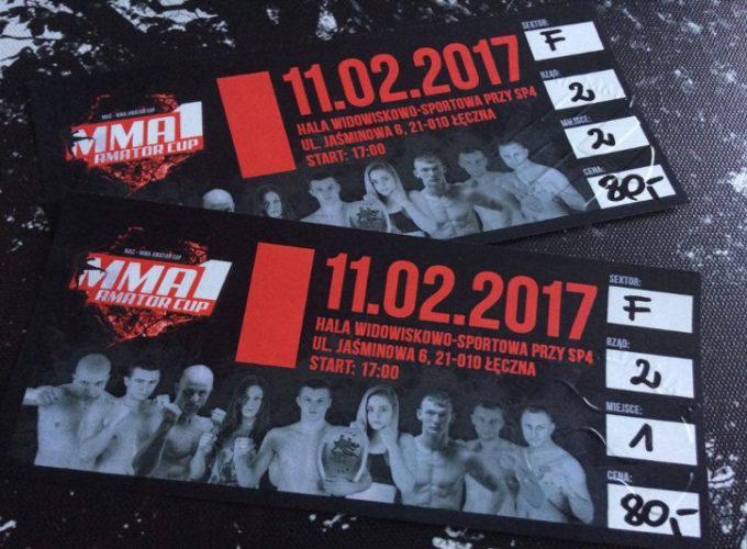 MMA Amator Cup bilety
