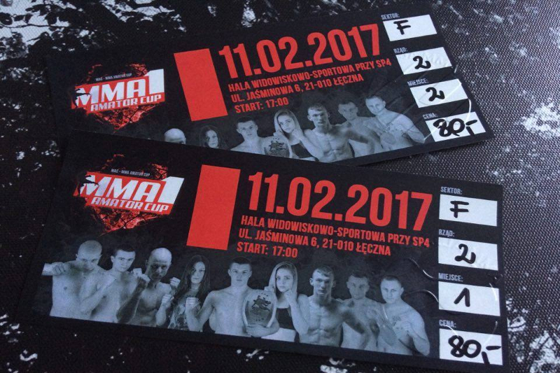 Gala MMA Amator Cup Łęczna 2017