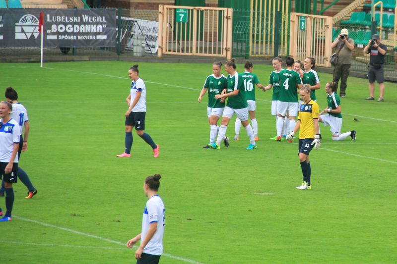 GKS Górnik Łęczna - AZS UJ Kraków 4:0 Ekstraliga
